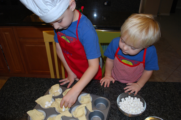 No-mess Baking with Your Superkids