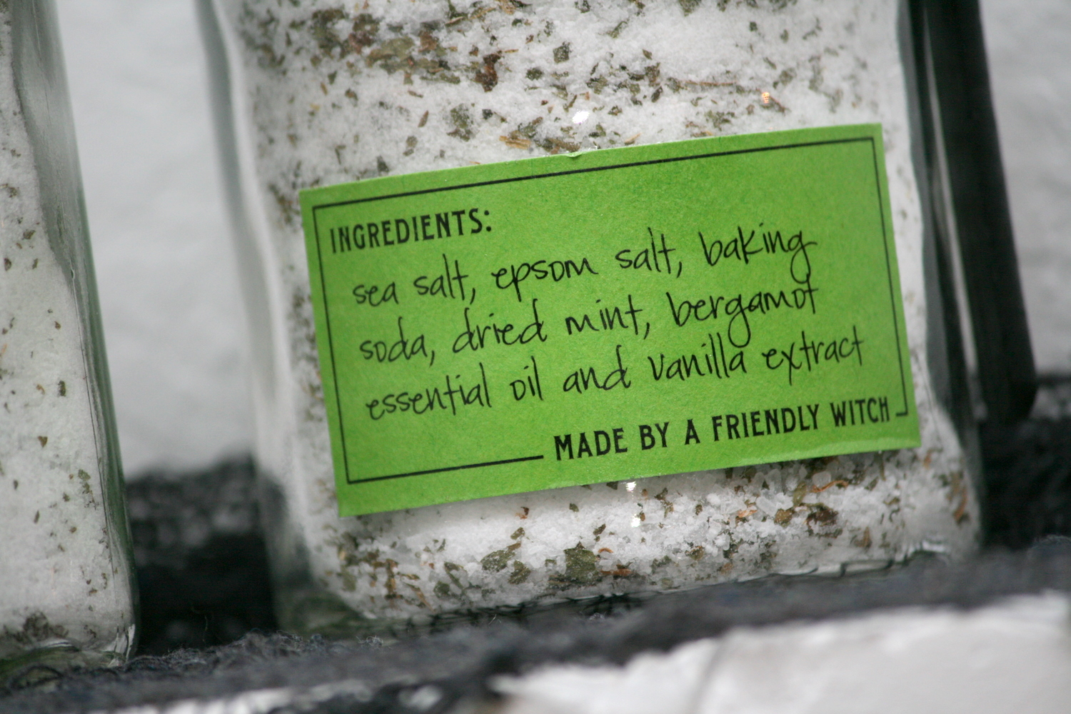 Poison Ivy Bath Salts Paging Supermom – Ingredients Label Template