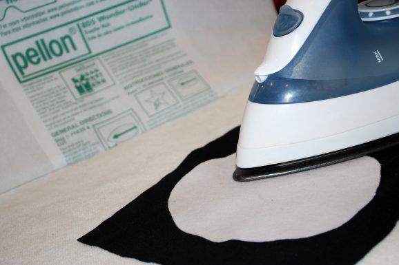 ironing white circle