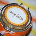 honey butter label