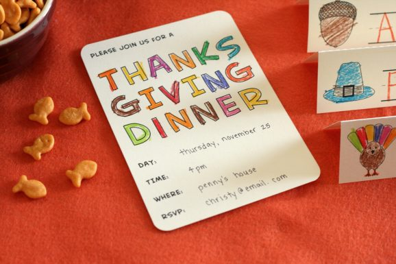 invite + snacks