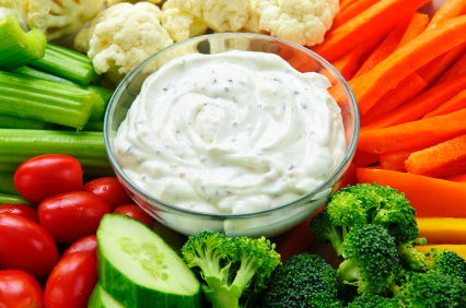 The Best Ranch Dip Ever! (Also the Easiest)