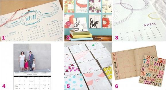 Our Favorite Calendars 2011