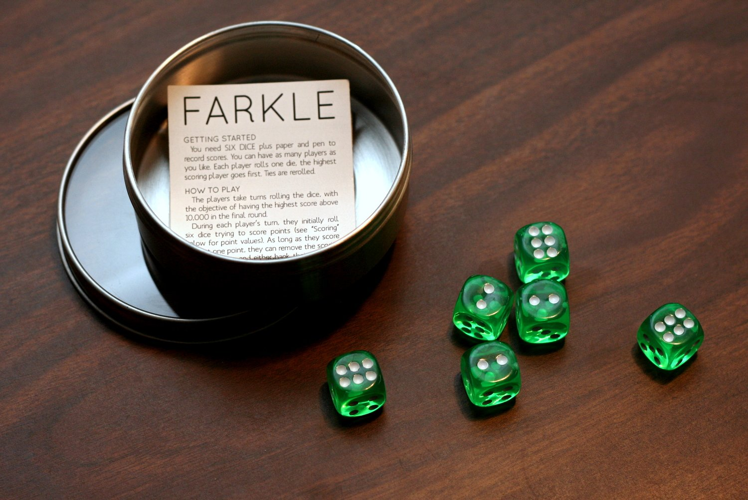 graphic relating to Farkle Instructions Printable referred to as Farkle Recreation Fixed - Paging Supermom