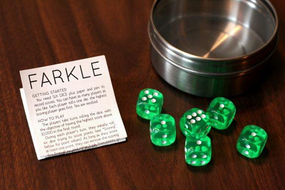DIY Farkle Game