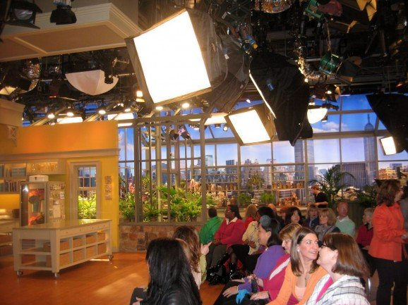 Audience and Craft Set of Martha Stewart Show