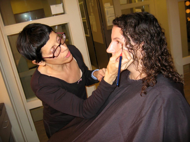 Hair and Makeup at Martha Stewart Show