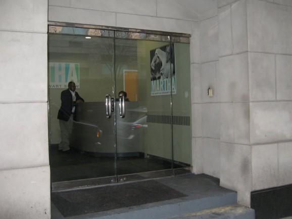 Martha Stewart Show Entrance