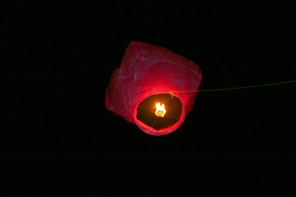 Floating Paper Lantern From Tangled Movie
