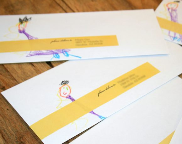 Labels for the Rapunzel Invites