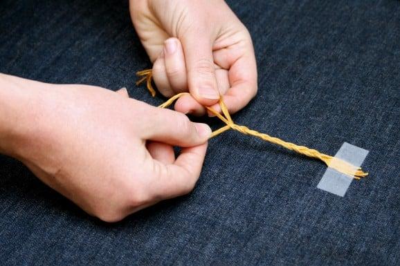 Braid the Threads for Rapunzel's Hair