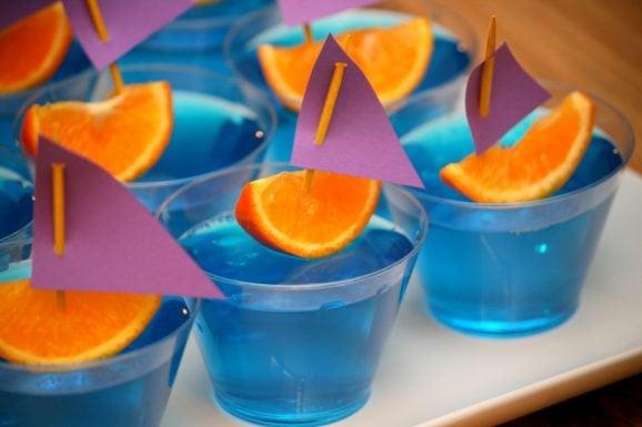 Tangled Party Jello Boats