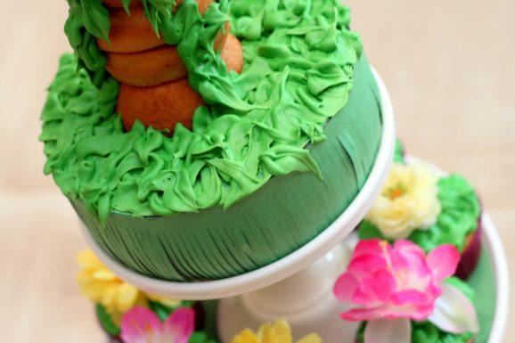 Tangled Birthday Cake: Rapunzel Tower
