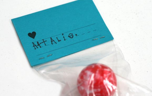 Handwritten Personalized Valentines