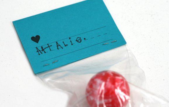 Handwritten Personalized Valentines