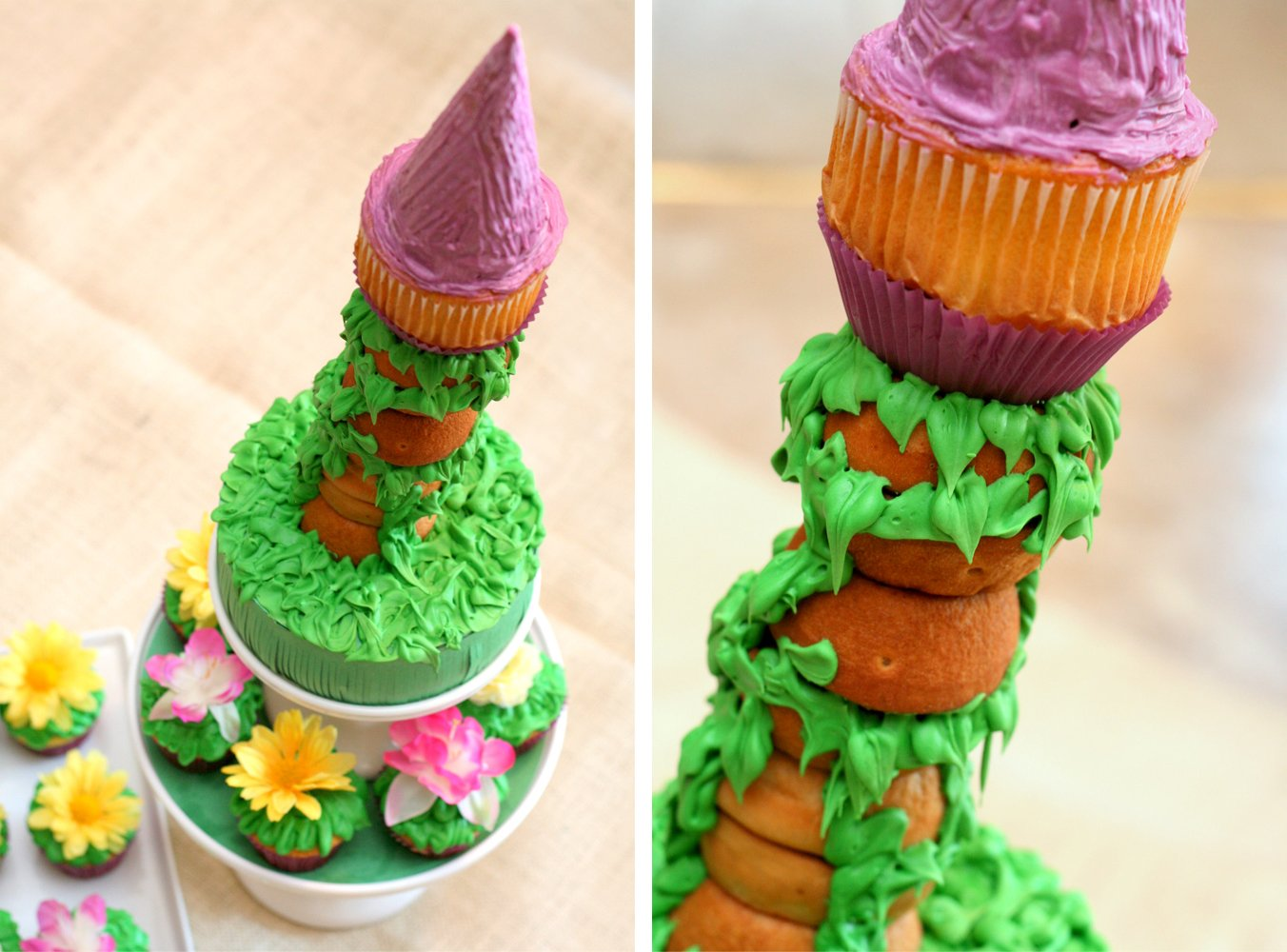 Rapunzel Cake Decor : Tangled Party Decor & Food - Paging Supermom