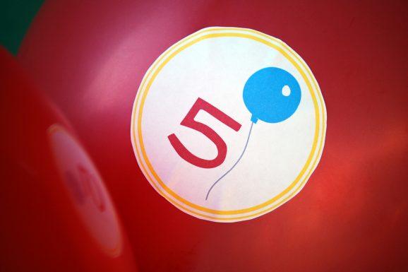 preschool career day logo on balloon