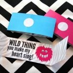 Wild Thing Printable Valentines