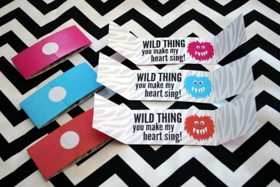 Free Printable Valentine Wild Thing
