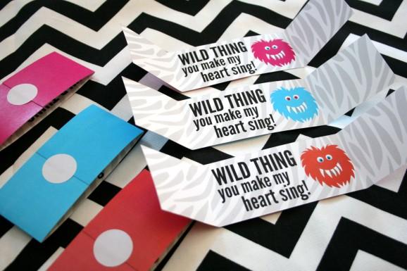 Zebra-print Valentine Wild Thing
