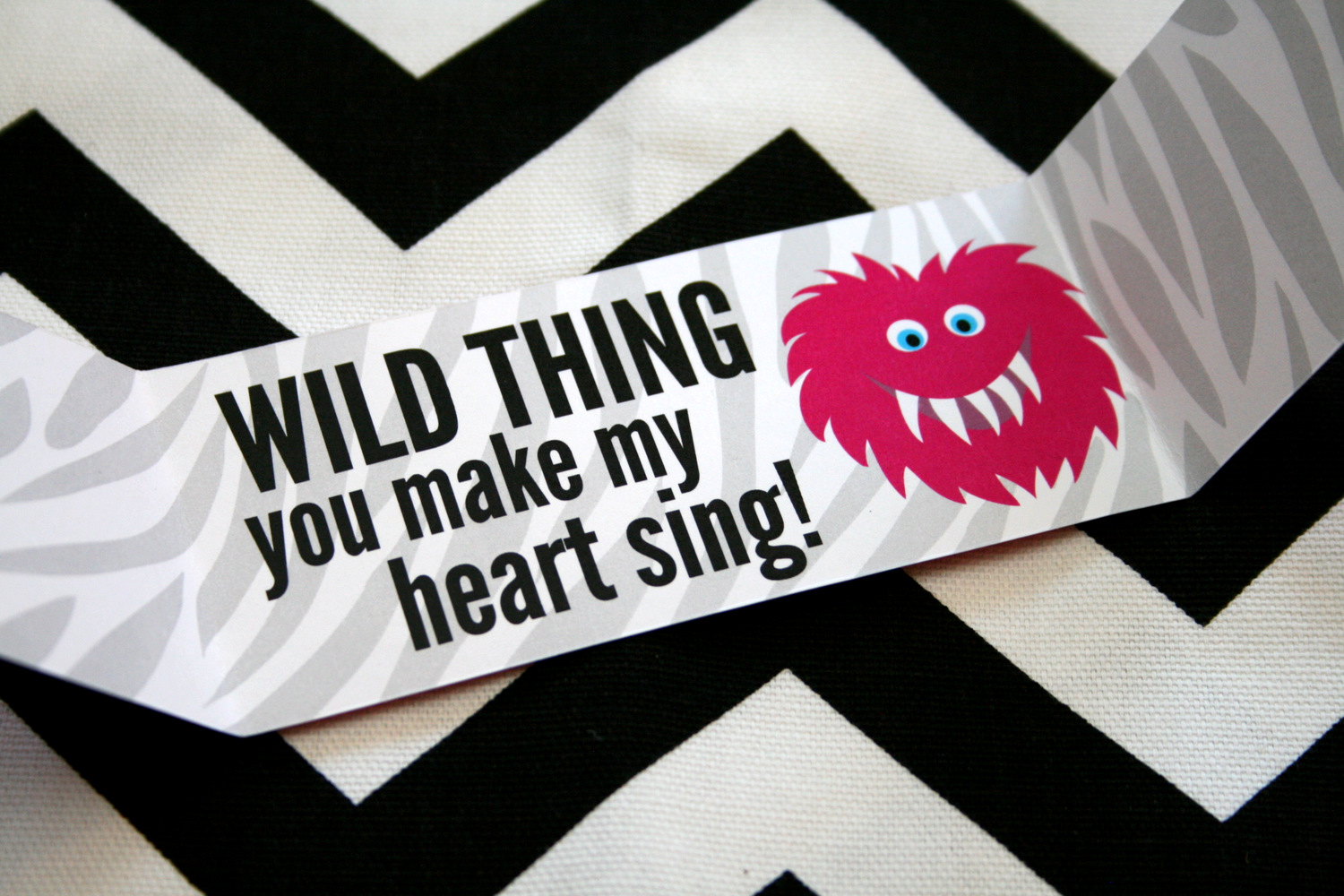 Wild Thing Printable Valentines Paging Supermom – Free Valentine Cards for Husband