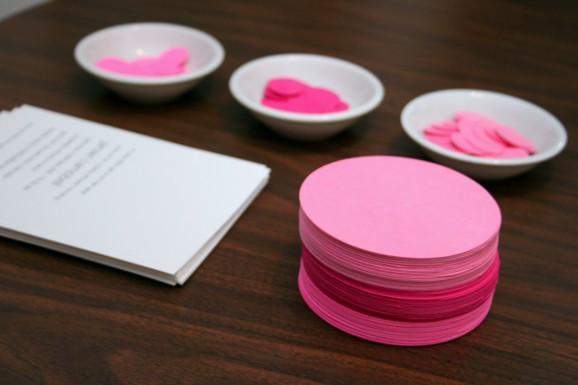 DIY Pink Circle Garland