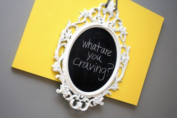 What Are You Craving Chalkboard Sign