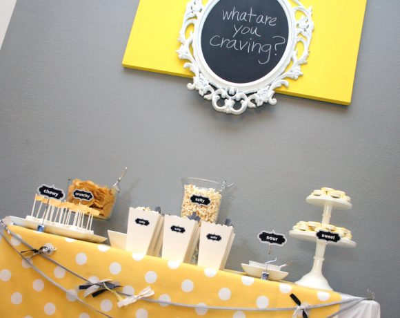 Pregnancy Cravings Dessert Table