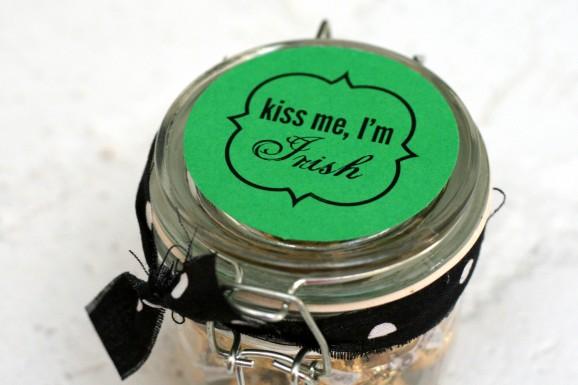 Kiss Me I'm Irish St. Patrick's Day Gift