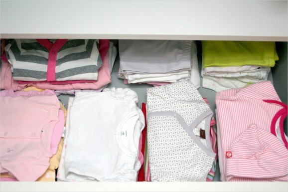 How to Get Stains Out of Stored Baby Clothes #layette #stainremoval