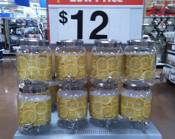 simple lemonade dispenser