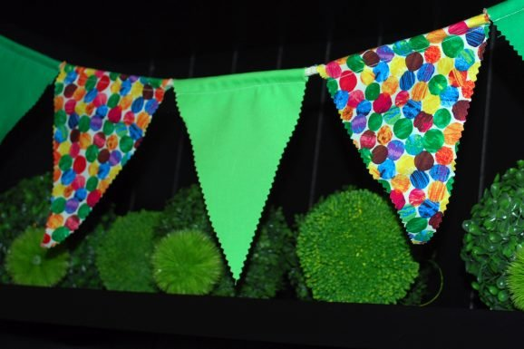 hungry caterpillar baby shower decor