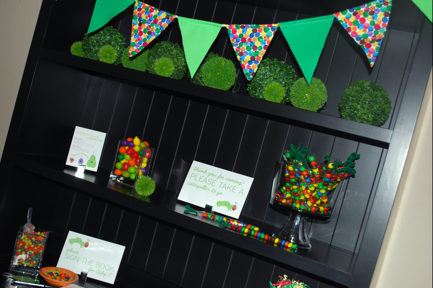 Hungry Caterpillar Party Decor