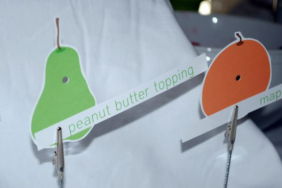 hungry caterpillar party food signs