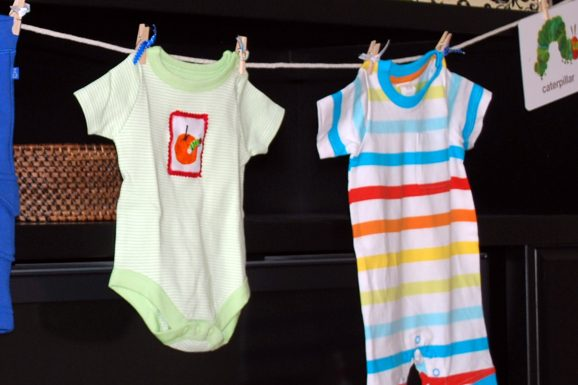 hungry caterpillar party baby onesie