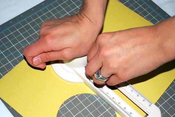 kid easter crafts chick banner marths atewart circle cutter