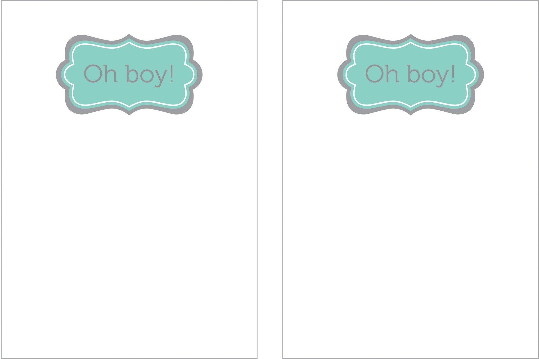 oh boy free printable invitation template