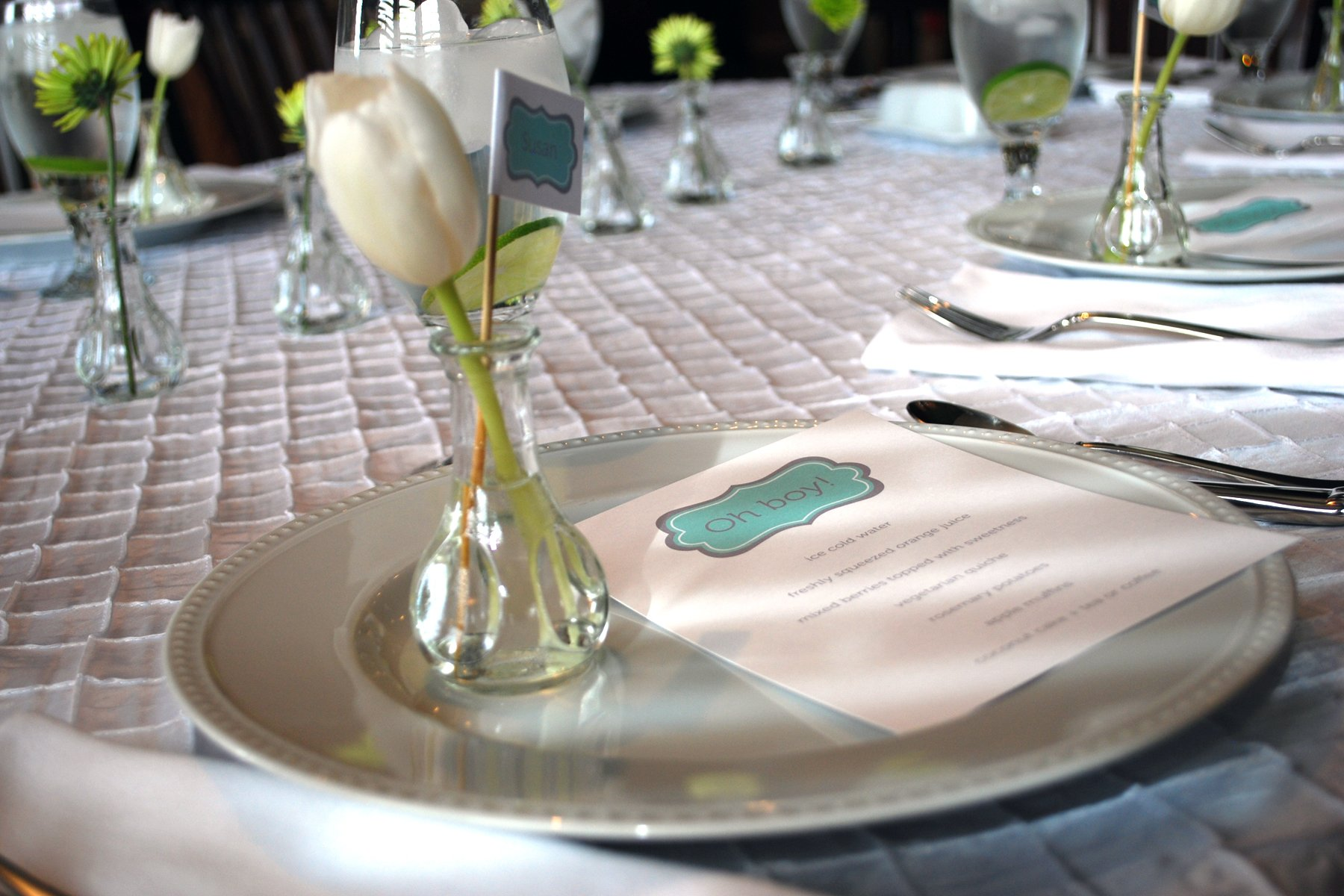 Baby Shower Brunch Menus. Theyu0027re Good On Their Own Or With ...