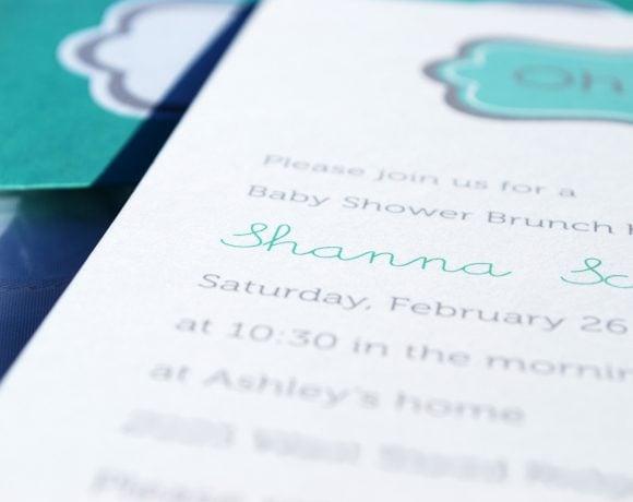 Oh Boy Baby Shower Invitation Printable