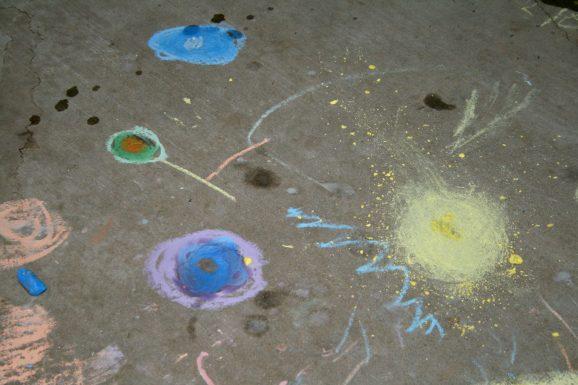 Sidewalk Chalk Artwork