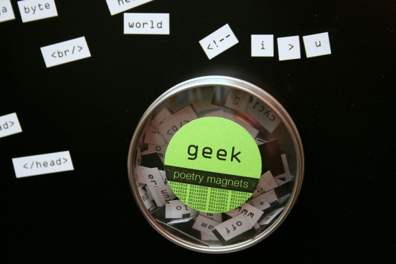 Geek Poetry Magnets