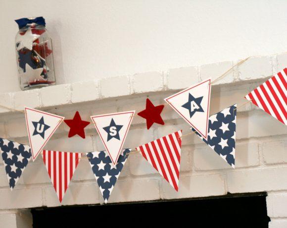 Stars + Stripes Banner