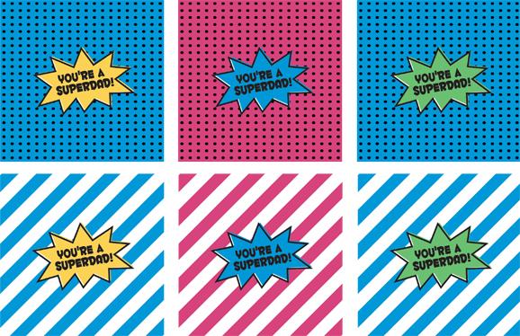 Freebie Superdad Labels Tags Printable