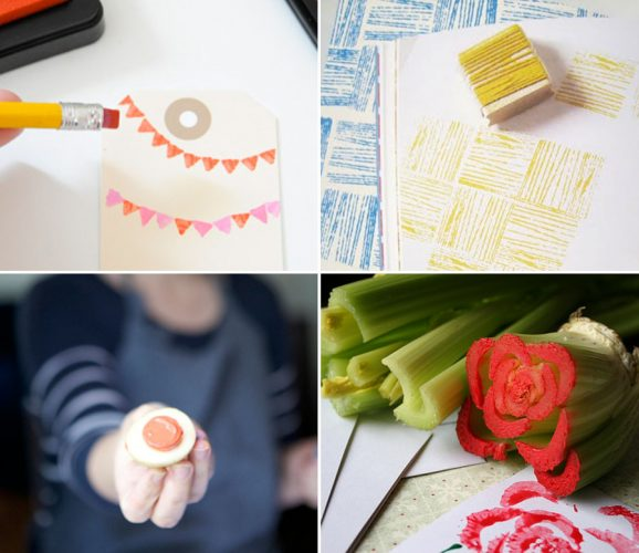The Coolest Homemade Stamps