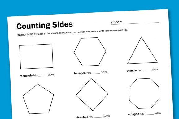 rhombus worksheets