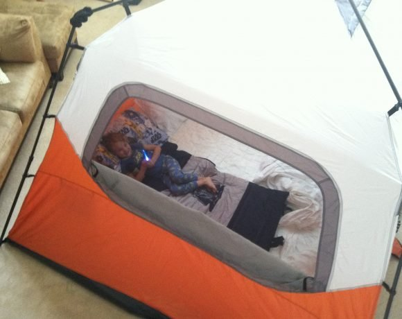 Living Room Camp-out