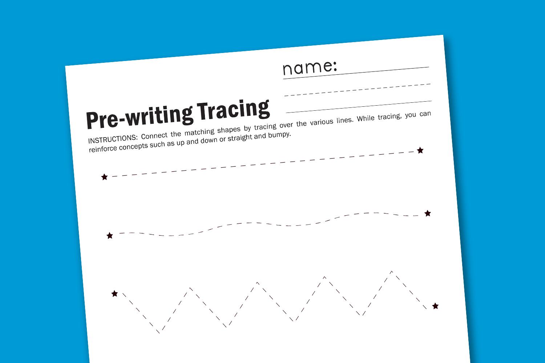 Easy No-Prep Prewriting Practice Printables