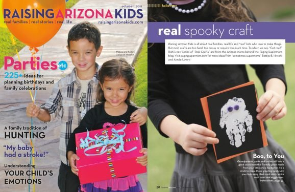 Raising Arizona Kids October 2011