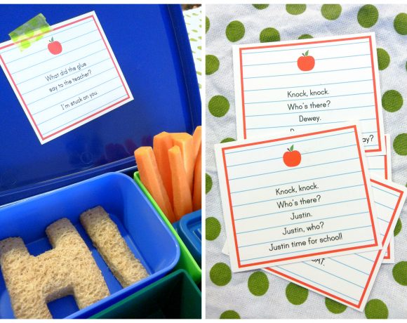 Three  Lunch Tips + Silly Lunch Printable