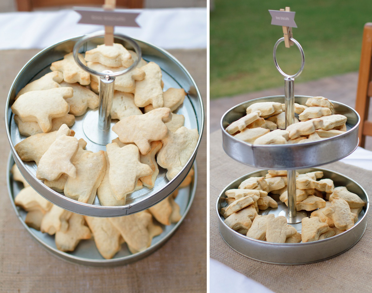 Halloween Dinner Ideas: Boo Biscuits with Orange Butter